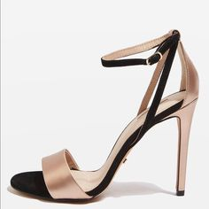 Stilettos, Shoe Boots, Shoes Heels, Metallic Heels, Metallic Gold, Beautiful High Heels, Childrens Shoes, Ankle Straps, Cute Shoes