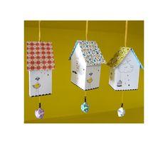 Mini Paper Decorative House Les Colocataires - Lili's