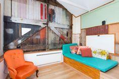 Funky Central Loft Studio - Lofts for Rent in West Hobart, Tasmania, Australia Rental Decorating, Decorating Tips, Easy Home Decor, Cheap Home Decor, Lofts For Rent, Loft Studio, Tasmania, Home Decor Accessories, Creative Design
