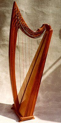 Cithara nova in cherry.  Both novas from Sandpiper harps in Coquille, OR