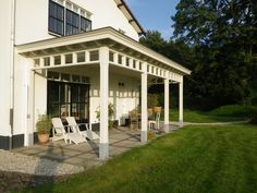 veranda belgisch zonder daklicht wit Pergola, Gazebo, Outdoor Living, Outdoor Decor, Back Patio, Glass House, Home And Garden, Backyard, Outdoor Structures