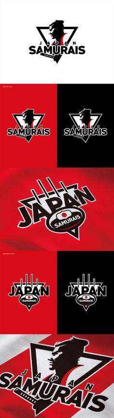 AFL Japan Samurais Identity by Yu Masuda