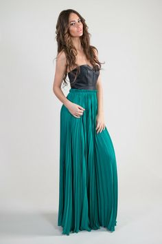 Angel Strapless Maxi Dress.