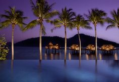 Pangkor Laut Private Island Resort - Malaysia. An island of 300 acres, located three miles off the West Coast of Malaysia along the Straits of Malacca, is home to eight luxurious villas with a mix of secluded bays curled around pristine beaches, evening skies woven with colour, and a deep sense of serenity.