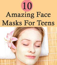 10 Amazing Face Masks For Teens.. wish I saw t house this sooner