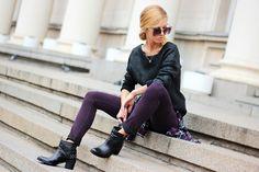 Casual Colorful Plaid - shirt  Woakao  http://www.woakao.com/product/dark-blue-checked-slim-shirt-SHNB080616.html , ankle boots -  Gido http://obuvkigido.com/%D0%B4%D0%B0%D0%BC%D1%81%D0%BA%D0%B8-%D0%B1%D0%BE%D1%82%D0%B8/7004-black.html