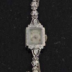Fifties' Hamilton Diamond Ladies Watch