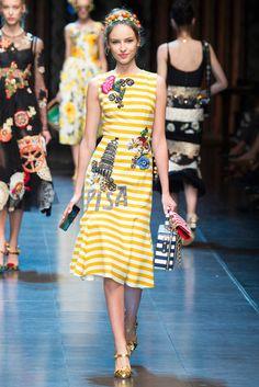 2016春夏プレタポルテコレクション - ドルチェ&ガッバーナ(DOLCE&GABBANA)ランウェイ|コレクション(ファッションショー)|VOGUE