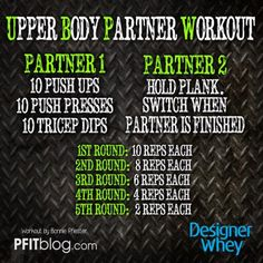 If I told you to do 10 push-ups, 10 push-presses and 10 Dips, you probably would go at a comfortable pace. BUT, if I told you to do 10 push-ups, 10 push-presses and 10 Dips while I waited for you i. Wod Workout, Boot Camp Workout, Workout Ideas, Bootcamp Ideas, Workout Routines, Workout Challenge, Workout Kettlebell, Workout Board, Team Wod