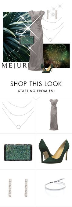 """""""Silver glam"""" by maria-kuroshchepova ❤ liked on Polyvore featuring Almost Famous, Ivanka Trump, contestentry and jenchaexmejuri"""