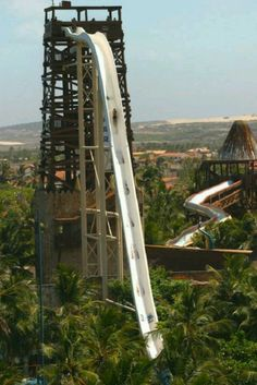 World's Highest Waterslide, Brazil