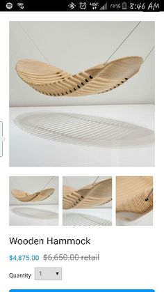 Beautiful Hammock..but I wouldnt pay that for it!