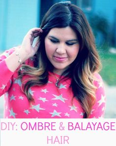 DIY: OMBRE & BALAYAGE HAIR. Learn the tips and tricks to coloring your hair.