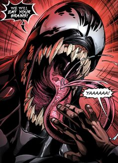 How about that Venom trailer though? I was on the fence for a while but Im such a fan of TomHardy so I was giving it a chance but now Im hype for this movie! Venom Comics, Marvel Venom, Marvel Villains, Marvel Comics Art, Marvel Characters, Marvel Heroes, Comic Books Art, Comic Art, Venom Art