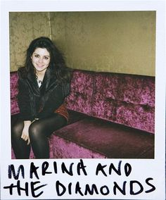 How am I only JUST discovering the amazingness that is Marina and the Diamonds?!