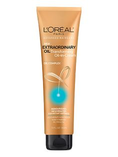 L'Oréal Paris Advanced Haircare Extraordinary Oil Transforming Oil-in-Cream If your hair approaches tumbleweed levels of dryness during the summer, you're going to want to stock up on this drugstore superconditioner. It's packed with just about every moisturizing ingredient out there: coconut oil, argan oil, wheat protein, soybean oil, sunflower oil—you get the idea. Even the most parched, tattered ends will be softer and smoother after one use.  L'Oréal Paris Advanced Haircare…