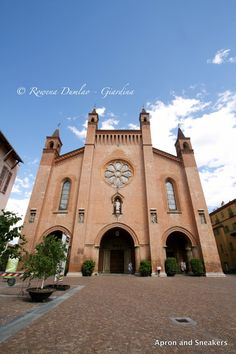 The cathedral of Alba, Italy   Apron and Sneakers