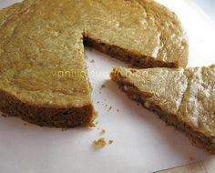 gluten free peanut butter-coriander snack cake