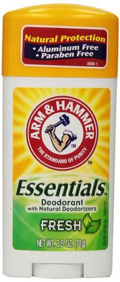 Amazing offer on ARM & HAMMER Essentials Natural Deodorant Fresh oz (Pack online - Wehaveover Baking Soda For Dandruff, Baking Soda Shampoo, Best Natural Skin Care, Anti Aging Skin Care, Arm And Hammer Essentials Deodorant, Arm And Hammer Baking Soda, Baking Soda Water, Homeopathic Medicine, Cosmetic Storage