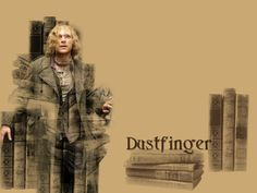 Dustfinger from Cornelia Ffunke's Inkheart books. I gravitate to him because he was a lonely soul exiled from a beautiful world for a long time - who loved passionately - who was prepared to die to save his daughter (and returned). I also loved how he saw beauty in fire - and how he danced with it, creating something dazzling from danger.