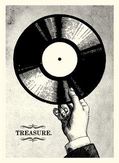 Music Player Illustration Vinyl Records Ideas For 2019 Vinyl Music, Vinyl Art, Vinyl Records, Music Girl, Home Music, Music Music, Arte Punk, Vinyl Poster, Vinyl Junkies