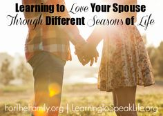 Change happens! Here are some great strategies for facing loving one another through those changes.