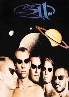 311 Spaced Out Poster