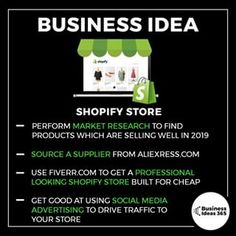 Business infographic & data visualisation Shopify stores have become super popular over the past few years - and no wonder. New Business Ideas, Business Money, Business Inspiration, Start Up Business, Business Planning, Business Tips, Business Opportunities, Online Business, Business Entrepreneur