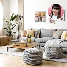 Decoración de interiores y exteriores, decora tu casa - HOLA Interior Exterior, Table, Furniture, Home Decor, House Decorations, Interiors, Decoration Home, Room Decor, Home Furniture