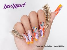 Orange  Claudia Ríos - Master Nail Mart