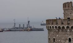 Historic Battleship Averoff in Thessaloniki (video) | GreekReporter.com