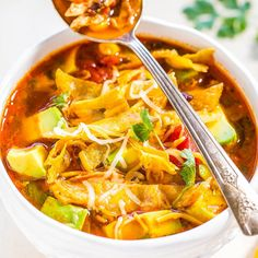 When I see chicken tortilla soup on a restaurant menu, I get excited. There's something about the slightly spicy broth with tender chicken, the corn and black beans, juicy tomatoes, creamy avocado, and those addictively good tortilla strips on top that I can't resist. Rather than making a trip out for it, you can make …