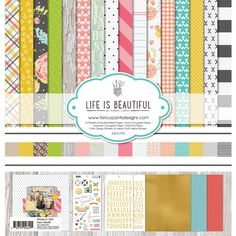 Fancy+Pants+Designs+-+Life+Is+Beautiful+Collection+-+12+x+12+Collection+Kit+at+Scrapbook.com