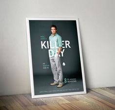 Dexter Poster I did as a gift :) #dexter #poster #have #a #killer #day
