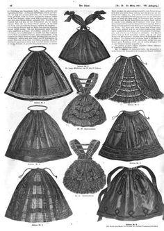 Victorian fashion plate- Der Bazar- Civil War Era aprons. http://books.google.com/books?id=OJ1LAAAAcAAJ&printsec=frontcover&dq=der+bazar+1861&hl=en&sa=X&ei=25lwUvWyGM_PigLCyoHQCg&redir_esc=y#v=onepage&q=der%20bazar%201861&f=false