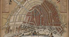 """""""Everywhere illustrious histories that are a dime a dozen"""": The Mass Market for History Painting in Seventeenth-Century Amsterdam - Journal of Historians of Netherlandish Art Windmills In Amsterdam, Amsterdam Map, Amsterdam Canals, Amsterdam Holland, Amsterdam Souvenirs, Dutch Republic, Tourist Information, Old Maps, Figure Painting"""