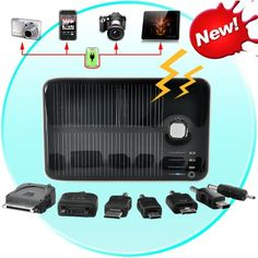 BilligShop - Solar Charger and Battery with Dual Charging Ports, $38.75 (http://www.billigshop.mobi/solar-charger-and-battery-with-dual-charging-ports/)