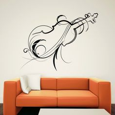 Decorative Stickers - The Alternative for Painting Walls ~ Home Designs