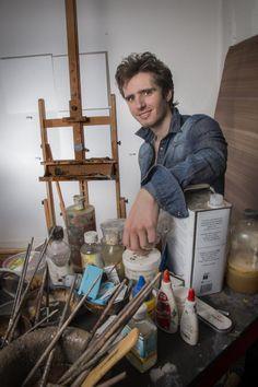 """Pintor Guillermo Lorca: """"para un artista el miedo a que ignoren tu obra es terrible""""   Lifestyle de AméricaEconomía : Artes, Diseño, Estilo, Motores, Ocio, Placeres, Salud, Viajes, Aire libre   Lifestyle de AméricaEconomía"""