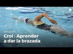 Natación Sesión ejercicios Brazos crol - YouTube
