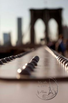 New York Photography Brooklyn Bridge NYC by UnAirDeParisByAlbane,  #newyork #brooklynbridge