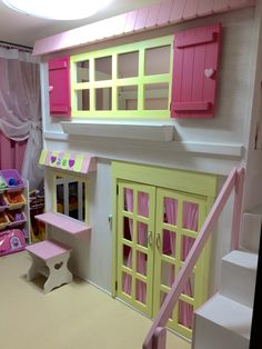 """Discover more information on """"bunk bed ideas for teens"""". Look into our internet site. Bunk Bed Designs, Girl Bedroom Designs, Girls Bedroom, Bedroom Decor, Princess Bunk Beds, Princess Bedrooms, Girls Bunk Beds, Kid Beds, My Room"""