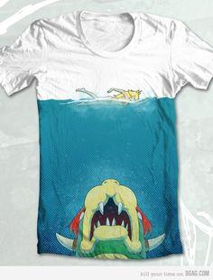 cool mario bros shirt