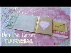 PEN PAL LETTER TUTORIAL - Little Hot Tamale - YouTube