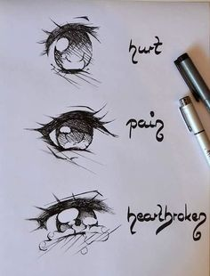 JohnnyBros How To Draw Manga Drawing Manga Eyes Part Anime Drawings Sketches, Cool Art Drawings, Pencil Art Drawings, Anime Sketch, How To Draw Anime Eyes, Manga Eyes, Learn To Draw Anime, Eye Drawing Tutorials, Drawing Expressions