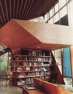Books Galore: I really want to get inside of this picture, turn around, and see the rest of this room