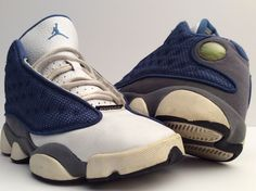 info for fbfe8 0ab71 Nike Air Jordan RETRO 13 XIII FRENCH BLUE FLINT UNIVERSITY 310271-441 Size  4.5Y