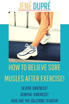 Sore muscles are the worst! Here's the best way to get sore muscle relief! But don't let that deter you away from exercise. Grab this FREE packet all about muscle soreness and how to prevent it! Killer Workouts, Fun Workouts, Fitness Workouts, Hiit Workout At Home, Barre Workout, Sore Muscle Relief, Muscle Anatomy, Body Anatomy, Hiit Class