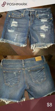 Denim shorts Aeropostale Midi denim shorts Aeropostale Shorts Jean Shorts