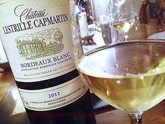 Chateau lestrille Capmartin Bordeaux blanc